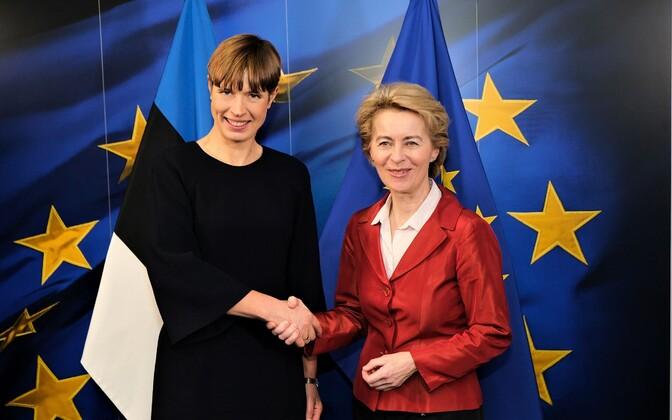 Kersti Kaljulaid ja Ursula von der Leyen.