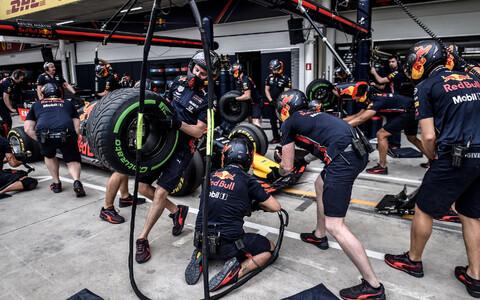 Red Bulli mehaanikud