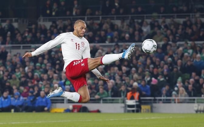 Мартин Брейтуэйт помог сборной Дании пробиться на ЕВРО-2020.