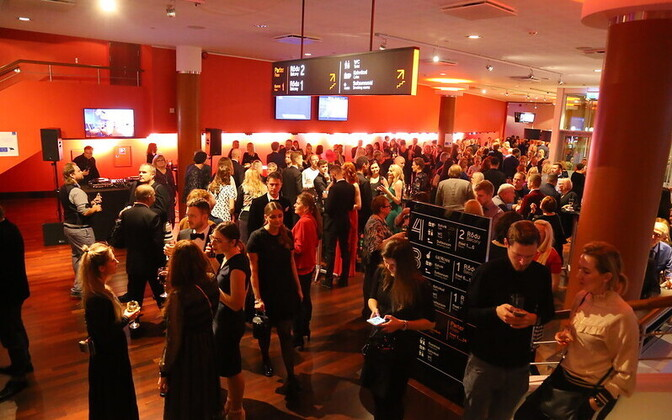 Movie-goers at this year's PÖFF festival