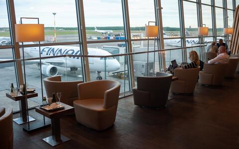Аэропорт Хельсинки.