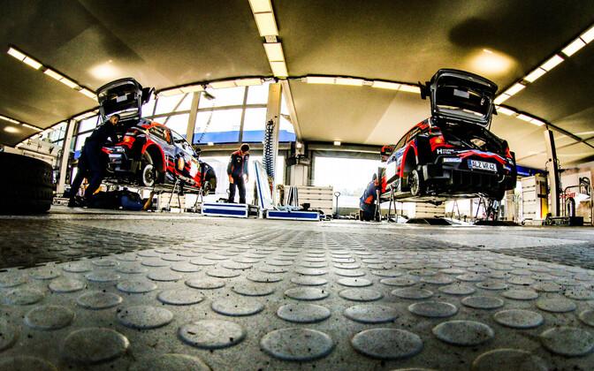 Hyundai Motorsport võitis esmakordselt autoralli MM-sarjas konstruktorite arvestuse