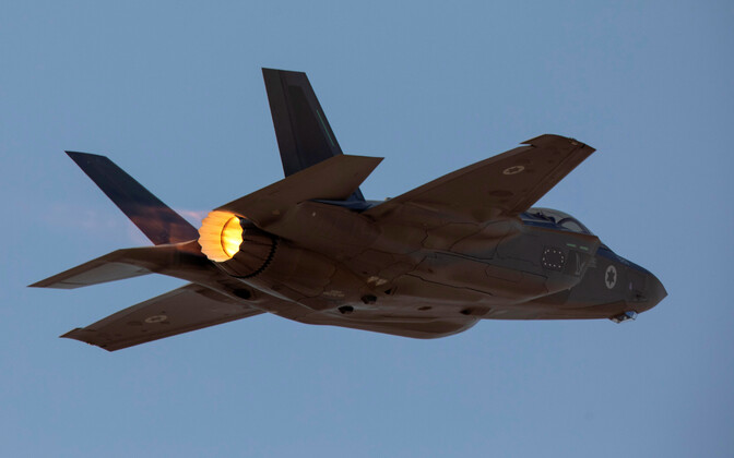 Iisraeli õhuväe hävituslennuk F-35.