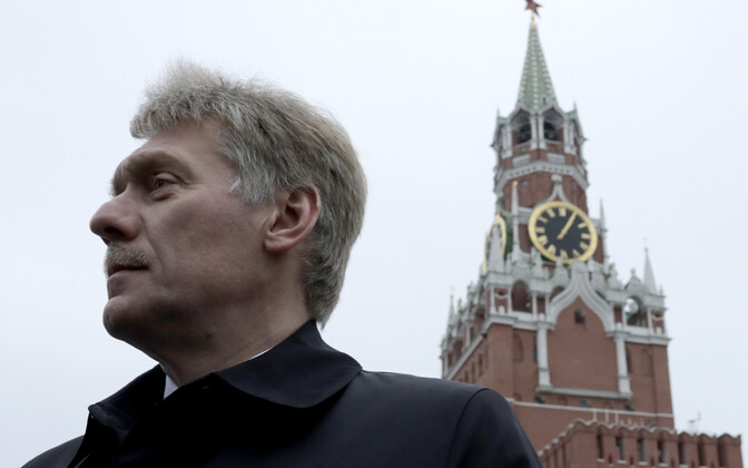 Press representative for the Kremlin Dmitri Peskov