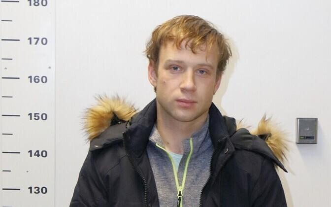 Арестованный гражданин Латвии.