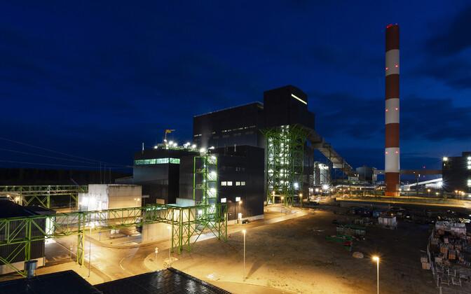 Auvere power plant