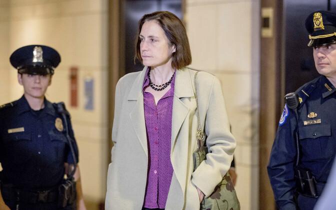 Valge Maja endine Venemaa küsimuste nõunik Fiona Hill esindajatekojas.