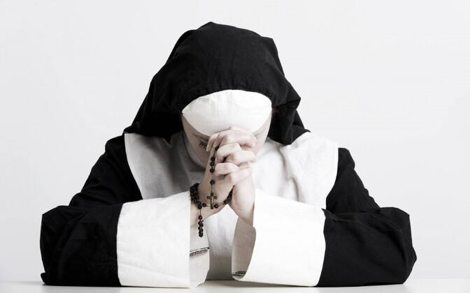 Rooma-katoliku nunn, arhiivifoto.