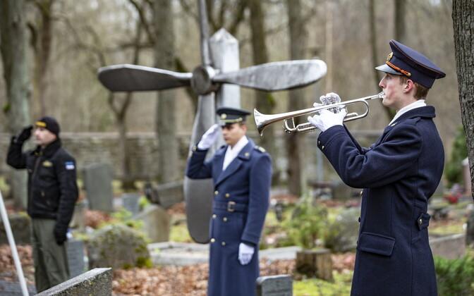 Estonian Air Force celebrate 101st anniversary.