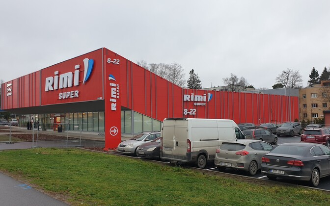 Новый супермаркет Rimi на Мяннику теэ.