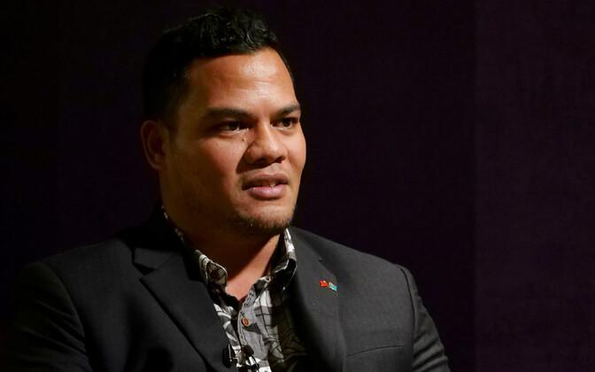 Tuvalu välisminister Simon Kofe.