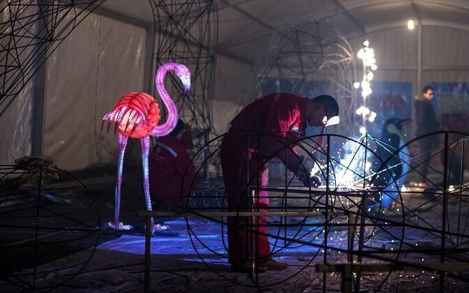 The Asian Lantern Festival will open on Dec. 6.
