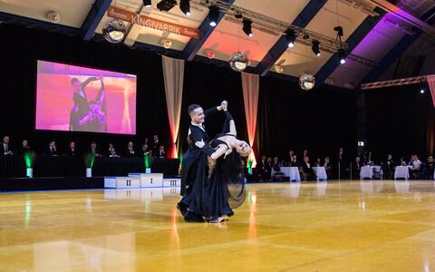 Этап Кубка мира по спортивным танцам в Таллинне.