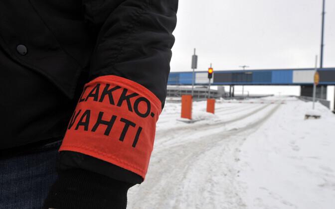 Streik Soomes, arhiivifoto 2010. aastast.