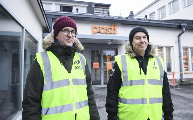 Soome postitöötajad streikimas.