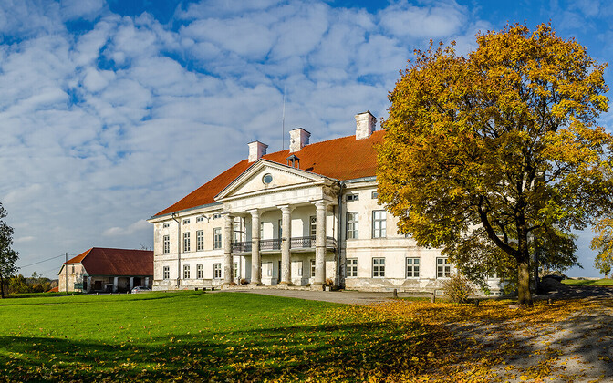 Lihula Manor which was built by Baltic Germans, and whose museum is now run by Marika Valk.