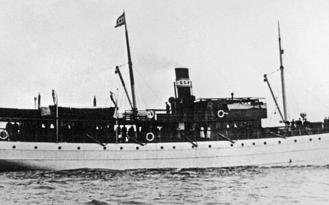 Eesti aurik Kassari, mille Nõukogude allveelaev lasi Hiiumaa lähedal põhja ööl vastu 11. detsembrit 1939.