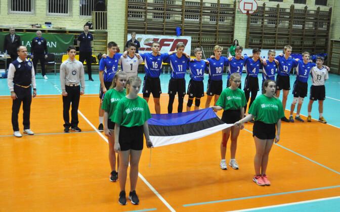 Eesti noormeeste U-17 võrkpallikoondis.