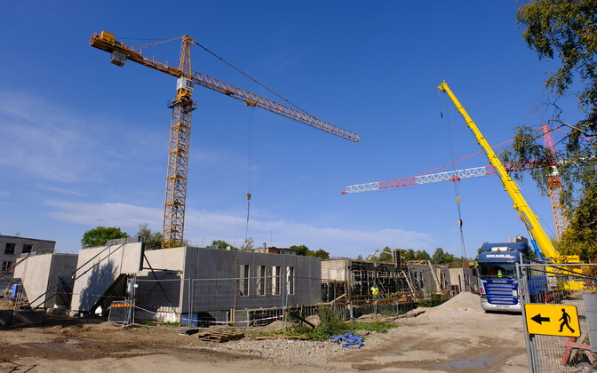 Construction in Narva.