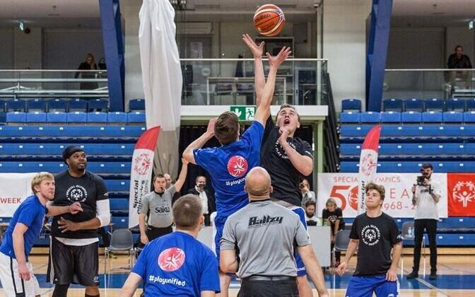 Eriolümpia Eesti Ühenduse eelmise aasta korvpalli tähtede mäng