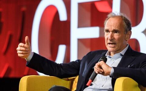 Veebi leiutamises võtmerolli mänginud Tim Berners-Lee.