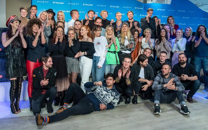 Полуфиналисты конкурса Eesti Laul 2020.