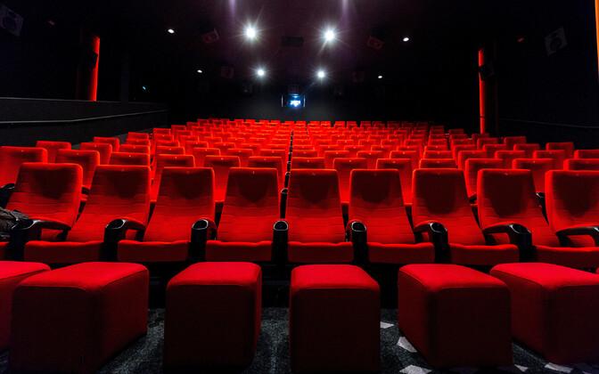 Forum Cinemase kinosaal Viljandis.