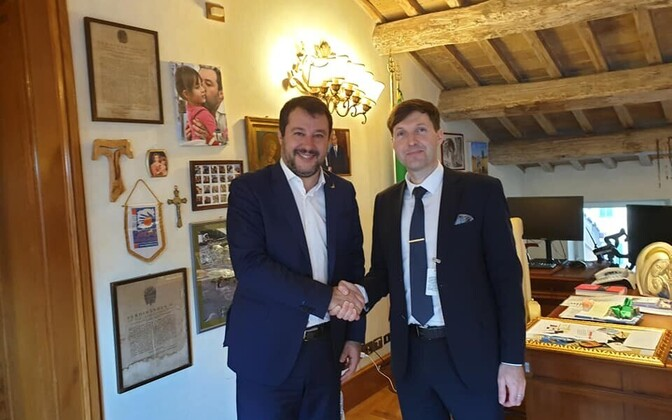 Matteo Salvini ja Mart Helme.