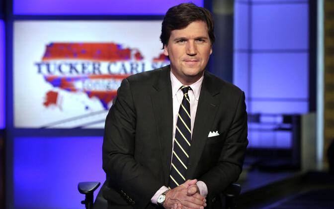 Fox Newsi saatejuht Tucker Carlson.