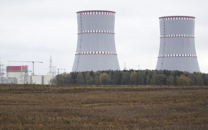 Astravetsi tuumaelektrijaam Valgevenes.