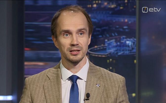 Lauri Lugna on Tuesday's Ringvaade.