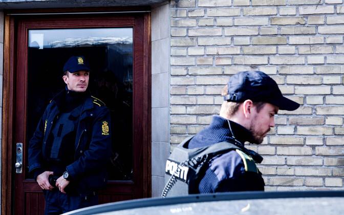 Taani politseinikud terrorismivastasel operatsioonil 2016. aastal Kopenhaagenis.
