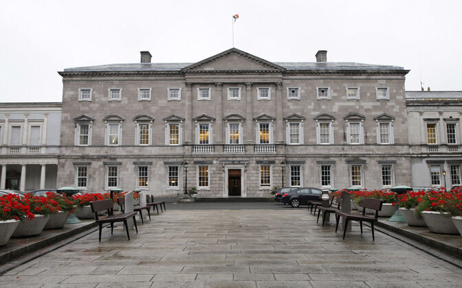 iiri Vabariigi parlamendi alamkoja (Dail Eireann) hoone Leinster House.