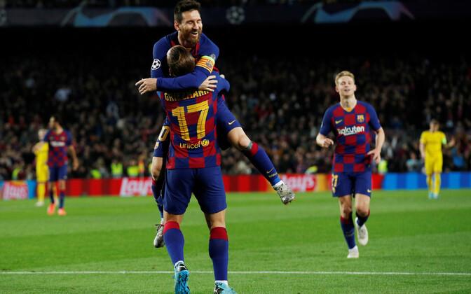 Lionel Messi mängis Barcelona võidumängus olulist rolli