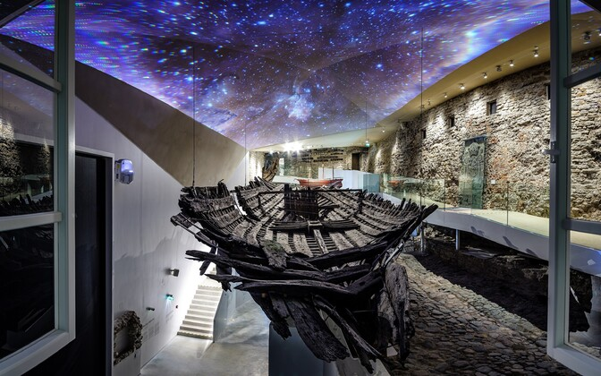 The new permanent exhibition at Tallinn's Maritime Museum at Fat Margaret tower.