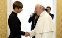 Президент Керсти Кальюлайд  встретилась с Папой Римским Франциском.