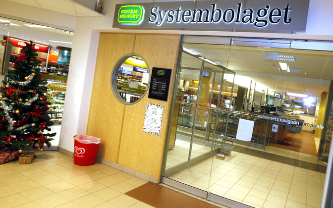 Rootsi alkoholimonopol Systembolaget.