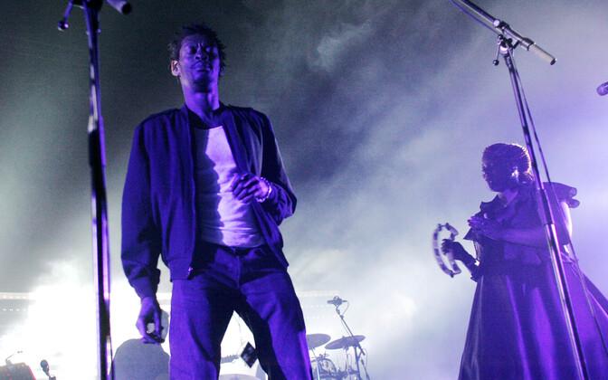 Massive Attack Tallinnas 2008. aasta juunis.