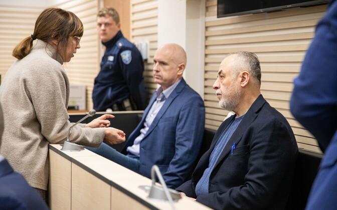 Pavel Gammer ja Hubert Hirv kohtus