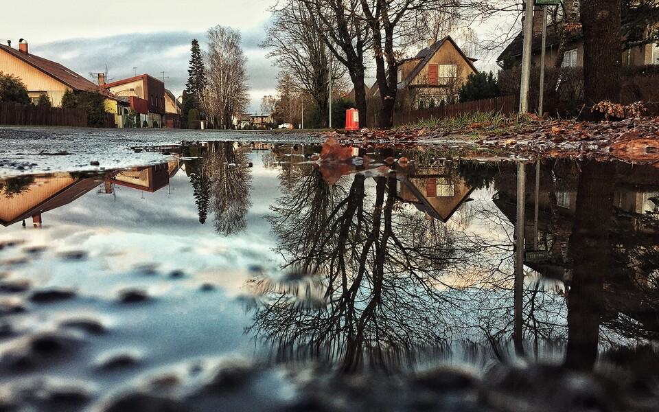 В субботу в Эстонии пройдет и дождь, и снег.