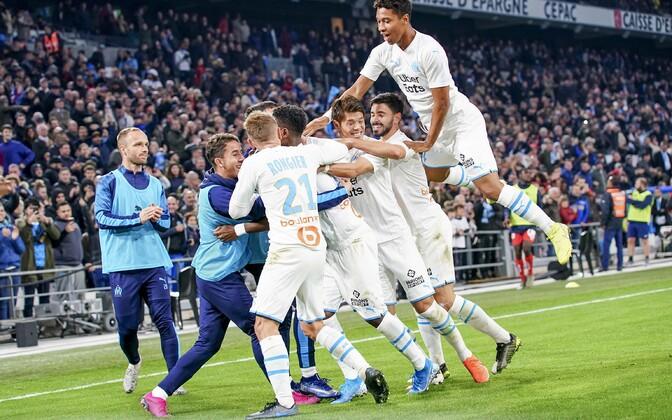 Marseille Olympique'i mängijad