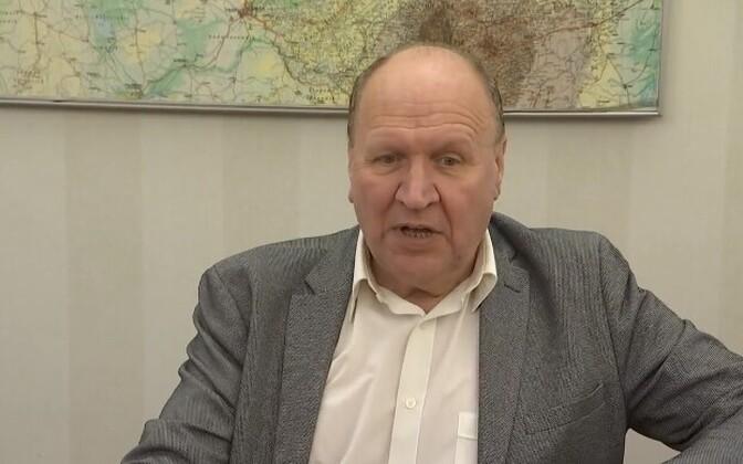 Interior minister Mart Helme (EKRE).