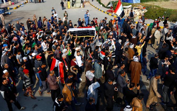 Акции протеста в Ираке не прекращаются с начала октября.