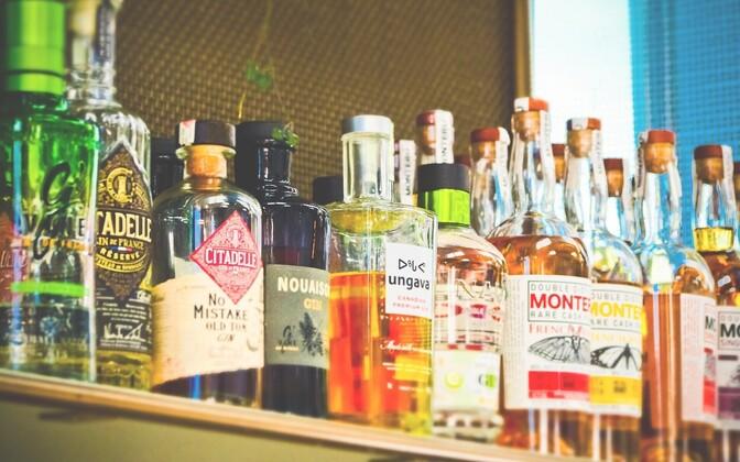 Алкоголь. Иллюстративная фотография.