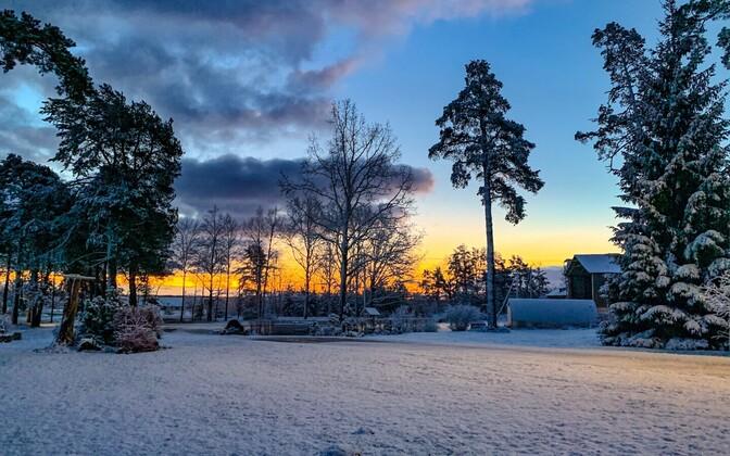 Esimene lumi Pärnumaal