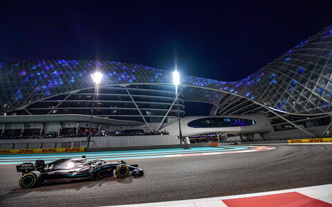 Lewis Hamilton Abu Dhabi GP-l
