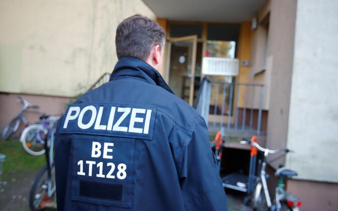 Berliini politseinik.