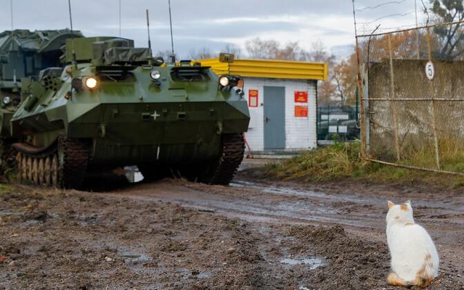 Учения Балтийского флота в Калининградской области.