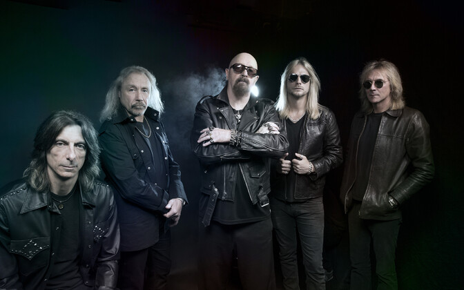 UK veteran rockers Judas Priest in their current incarnation.