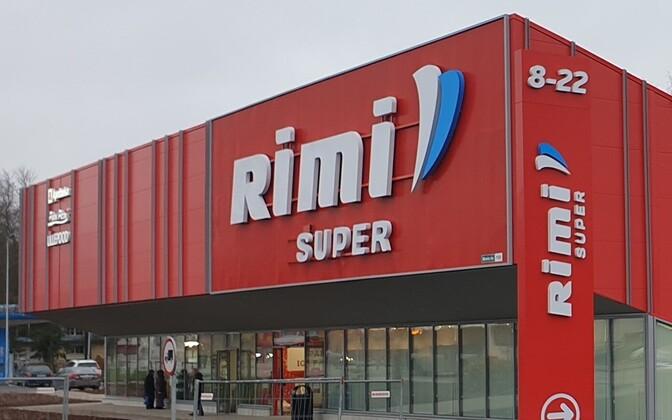 A Rimi supermarket.